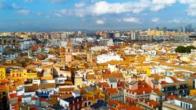 Beautiful Spanish city of Valencia. Photos of the historic center.  stock images