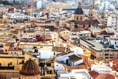 Beautiful Spanish city of Valencia. Photos of the historic center.  royalty free stock photo