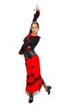 Beautiful spanish dancer. Stock Photography