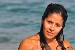 Beautiful Spanish Girl Stock Photography