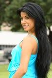 Beautiful Spanish Girl Royalty Free Stock Photography