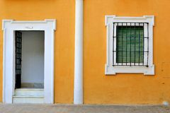Beautiful Spanish house. Seville, Spain Stock Photography