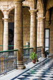 Beautiful spanish palace in Havana Royalty Free Stock Images