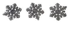Beautiful sparkling snowflakes Royalty Free Stock Image