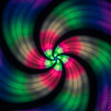 Beautiful spiral pattern. Abstract background with geometrical e. Lements. Colorful vintage texture for variety of design uses vector illustration