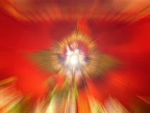Beautiful spiritual light Stock Image