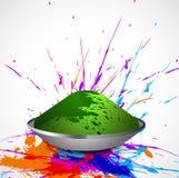 Beautiful splash of colorful grunge background Stock Photos