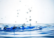 Beautiful splash of water Stock Photography
