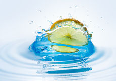 Beautiful splash of water Royalty Free Stock Photography