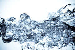 Beautiful splashes a clean water Stock Photography