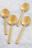 Beautiful spoon set Royalty Free Stock Photography