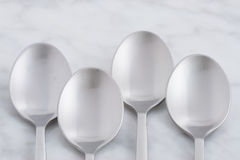 Beautiful spoon set Stock Photos