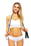 Beautiful sport woman Stock Photography