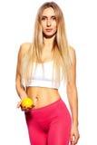 Beautiful sport woman Stock Photos