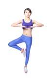Beautiful sport Yoga woman Stock Photos