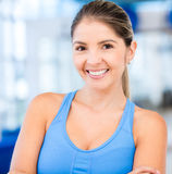 Beautiful sportive woman Royalty Free Stock Photos