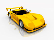 Beautiful Sports Car Royalty Free Stock Photography