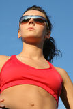 Beautiful sporty woman Royalty Free Stock Photo