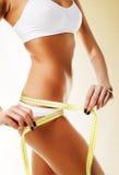Beautiful sporty woman body Royalty Free Stock Photography