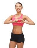 Beautiful sporty woman Royalty Free Stock Image