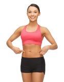 Beautiful sporty woman Stock Photo