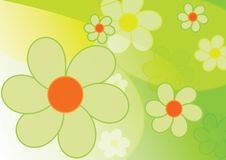 Beautiful spring background - flowers Royalty Free Stock Photo