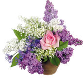 Beautiful spring bouquet. Royalty Free Stock Photography