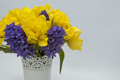 Beautiful spring bouquet. Royalty Free Stock Photos