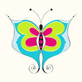 Beautiful spring butterfly Royalty Free Stock Photo