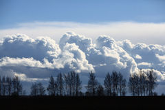 Beautiful spring clouds Royalty Free Stock Photography