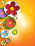 Beautiful Spring Colorful Flowers Background Royalty Free Stock Photo