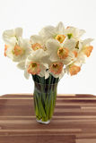 Daffodils in vase. Stock Image