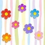 Beautiful Spring Flowers -  illustration.  Royalty Free Stock Photos