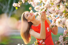 Beautiful Spring Girl Royalty Free Stock Image