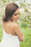 Beautiful Spring Girl Stock Photos