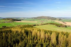 Beautiful spring landscape Stock Images