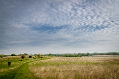 Beautiful spring landscape Royalty Free Stock Photos