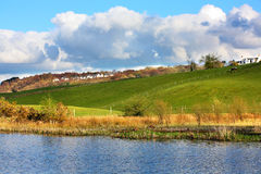 Beautiful Spring landscape, Scotland Royalty Free Stock Photos