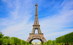 Beautiful Spring in Paris Royalty Free Stock Photos
