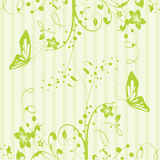 Beautiful spring pattern background. Beautiful green spring pattern background Royalty Free Stock Photo