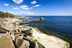 Beautiful spring sea landscape in spring season Stock Images