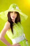 Beautiful spring woman Royalty Free Stock Photos