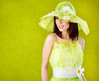 Beautiful spring woman portrait Royalty Free Stock Photos