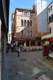 Beautiful Square Salizada San Lio In Venice. stock photography