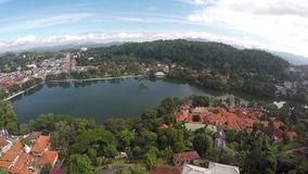 Beautiful srilanka daladamaligawa stock video
