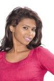 Beautiful srilankan female model closeup Royalty Free Stock Photo