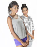 Beautiful srilankan girls Royalty Free Stock Photography