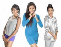 Beautiful srilankan girls Stock Photography