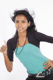 Beautiful srilankan model Royalty Free Stock Images