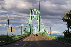 Beautiful st. johns historic bridge Stock Images